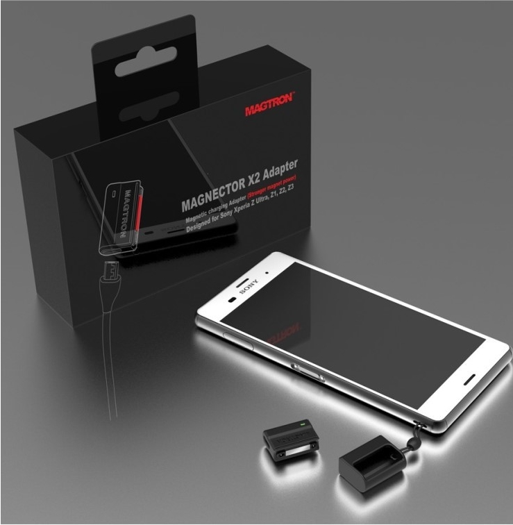 21a4d577cfa Magnextor X2, new charger for Sony Xperia